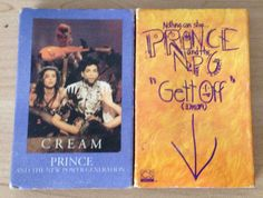 Prince Music Cassettes Lot 2 Out Of Print Cream Gett Off Horny Pony Paisley Park