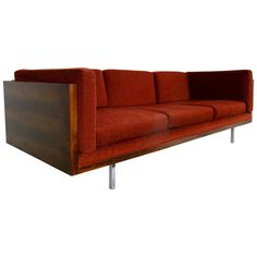 Rosewood Case Sofa by Milo Baughman, USA 1