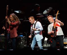 """Don Henley Photos - Timothy B. Schmit, Glen Frey and Don Henley of the Eagles perform during """"History Of The Eagles Live In Concert"""" at the Bridgestone Arena on October 2013 in Nashville, Tennessee. - History of the Eagles Live in Concert Eagles Live, Great Bands, Cool Bands, Eagles Albums, Eagles Band, Eagles Music, Eagles Lyrics, History Of The Eagles, Bands"""