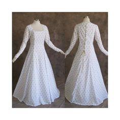 White and Gold Fleur De Lis Medieval Renaissance « Dress Adds Everyday