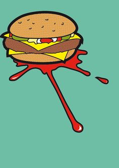 ☆ Pop Icon :¦: Pulp Fiction :¦: By Artist Greg Guillemin ☆ Art Prints, Pulp Fiction Art, Comic Art, Graphic Book, Retro Art, Art, Art Movement, Pop Art Food, Pop Culture