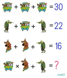 Solve this puzzle Brain Teasers Riddles, Brain Teasers With Answers, Brain Teaser Puzzles, Fun Math, Math Games, Math Activities, Math Logic Puzzles, Iq Puzzle, Math Exercises