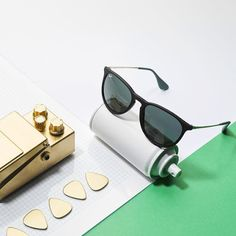 Customize your favorite Ray-Ban sunglasses with #RayBan Remix and get #creative.