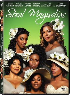 Six Louisiana women stick together through good times and bad in this adaptation of the enduring stage play starring Queen Latifah, Phylicia Rashad, and Alfre Woodard. Color: Steel.