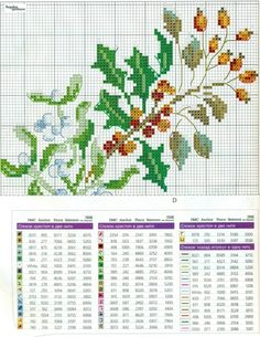This Pin was discovered by Ebr Dmc Cross Stitch, Cross Stitch Tree, Cross Stitch Bookmarks, Cross Stitch Cards, Cross Stitch Flowers, Cross Stitching, Cross Stitch Embroidery, Cross Stitch Patterns, Mantel Redondo