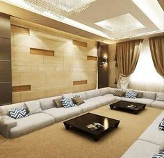 Living Room Wall Designs, Living Room Sofa Design, Living Room Pillows, Paint Colors For Living Room, My Living Room, Bad Room Design, Home Room Design, Floor Seating Cushions, Bedroom False Ceiling Design