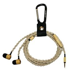Jamboo Bamboo Tangle-Free Earbud with Mic, Hemp Iphone Headphones, Tangled, Hemp, Bamboo, Reduce Waste, Free, Routine, Image Link, Gadgets