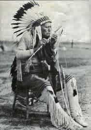 Pohd Lohk (aka Old Wolf, aka Kiowa George, aka George Poolaw) - Kiowa - circa 1928