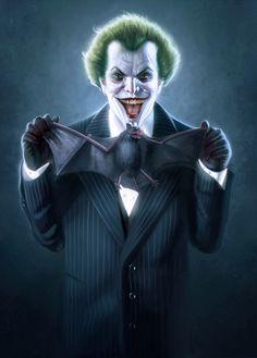 "scifi-fantasy-horror: "" The Joker by George Patsouras  """