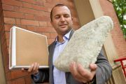 Clean and green! Salford researcher develops building insulation made of soap.