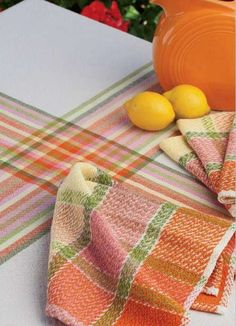 Fresh Citrus Napkins