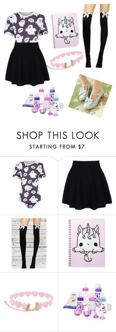 """ghost babe"" by little-liv on Polyvore featuring Theory, cutekawaii, Forever 21 and The First Years"