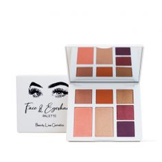 FACE MAKEUP PALETTE DUSK Greek Beauty, Makeup Palette, Dusk, Face Makeup, Eyeshadow, Products, Rolling Makeup Case, Eye Shadow, Makeup
