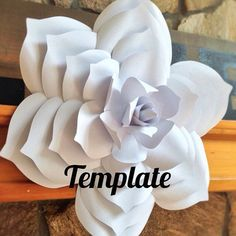 Hey, I found this really awesome Etsy listing at https://www.etsy.com/listing/252812975/paper-gardenia-template-diy-paper-flower