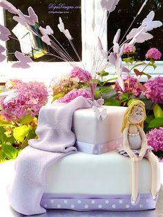 Fairy Birthday Cake Fondant, Fairy Birthday Cake, Cupcake Cakes, Cupcakes, Step Cards, Card Making Tutorials, Cake Recipes, Celebration, Paper Crafts