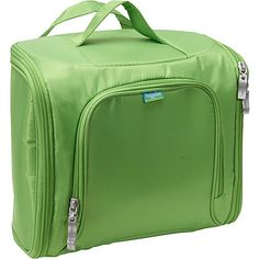 - baggallini Full Cosmetic Kit Lime/Blue - baggallini Toiletry Kits