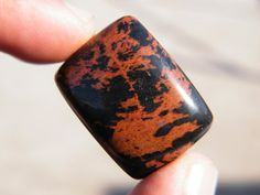 Check out this item in my Etsy shop https://www.etsy.com/listing/263691505/mahogany-obsidian-28mmx21mmx8mm-flat