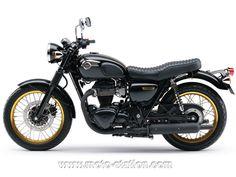 News moto 2012 : La Kawasaki W 800 SE arrive en France