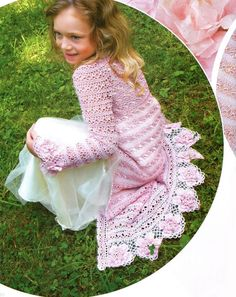 Irish crochet &: GIRLS COAT