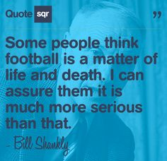 Some people think football is a matter of life and death. I can assure them it is much more serious than that. Inspirational Football Quotes, Soccer Quotes, Vikings Football, Clemson Football, Football Baby, Baseball, Power Of Social Media, Social Work, Football Movies