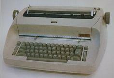 Elektryczna maszyna do pisania IBM Selectric, 1961, Eliot Noyes