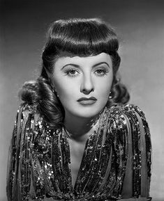 """Barbara Stanwyck: Maybe not necessarily """"beautiful,"""" BUT wow--what an actress she was way back when...quite a confident, spirited woman for sure... :) <3"""