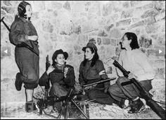 Italian resistance fighters: