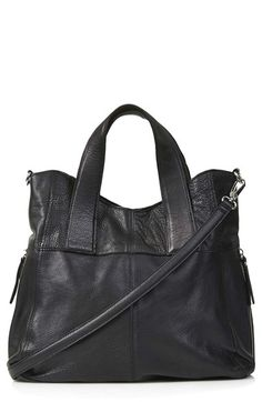 Free shipping and returns on Topshop 'Alba' Leather Hobo Bag at Nordstrom.com. Supple leather shapes a hobo bag outfitted with two durable handles and an adjustable crossbody strap for different carrying options, as well as a spacious interior.
