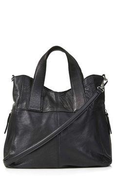 Topshop 'Alba' Leather Hobo Bag | Nordstrom