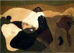 Arthur Dove - Cows in Pasture