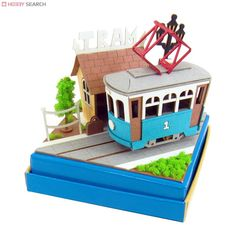 [Miniatuart] Miniatuart Mini : Stop and tram (Assemble kit) (Model Train) Item picture6
