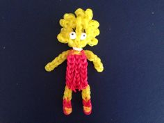 LISA SIMPSON  Rainbow Loom