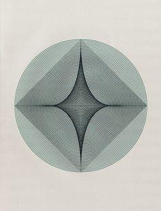 square in a circle.   le fini dans l'infini.  le matériel dans le spirituel.