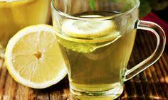 Té con limón y aceite de oliva que te ayudará a bajar la barriga rapidísimo.