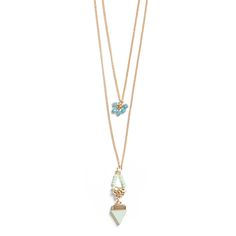 Looking to add a couple of long necklaces.ans this looks to be my style Layering made easy! Spice up low cut tops or billowy boho style blouses with this two-in-one style. (Stitch Fix Everson Triangle Stone Layer Necklace) Layered Necklaces Silver, Layering Necklaces, Long Necklaces, Layer Necklace, Triangle Necklace, Boho Style, Style Me, Fix Clothing, Stitch Fix Outfits