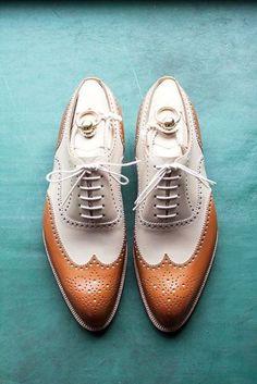 5 detalhes essenciais para um Noivo Vintage - sapatos de noivo vintage  #casarcomgosto