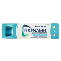 Dentist visit this week and this is what the Dr  recommended with more circular brushing on lower parts of teeth: Best New Product Awards - Best Sensitive Toothpaste: Sensodyne ProNamel Fresh Wave