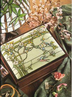 Gallery.ru / Art Nouveau Cross Stitch40.jpg - Art Nouveau Cross Stitch - lilkaaa