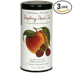 Stonewall Kitchens Raspberry Peach Tea- my happy place