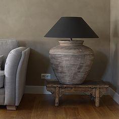 Met een groot item in je interieur maak je een echt statement!  #lamp #instawonen #landelijk #landelijkwonen #interieur #interior #debongerd