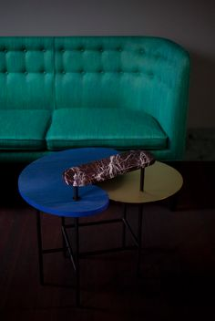 """""""Tables are where people exchange ideas, express emotions and connect with each other,"""" explains Spanish artist and designer Jaime Hayon. #andtradition #palette #table #jaimehayon #design #furniture #inspiration #interiordesign #interior #interiør"""