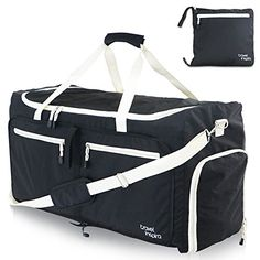 b44232d973 Travel Inspira Large Foldable Duffel Bag XL For Packable Duffle Luggage Gym  Sports   Check out