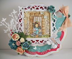 Sharing my latest card with you all. http://www.magnoliastamps.us/ #cards # craft more info at http://wwwsuzies.blogspot.com