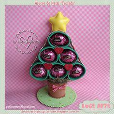 Doce Arte by Pati Guerrato: Natal Doce Arte - Hummmm que árvore deliciosa :)