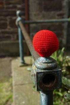 Yarn street art