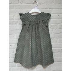 Sukienka sztruksowa dla dziewczynki second hand online wieszakshop.pl