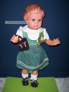 Seltene Trachten Puppe Von Schildkröt Mit Tasche Gemarkt Puppensammlung Top Schildkröt Bild