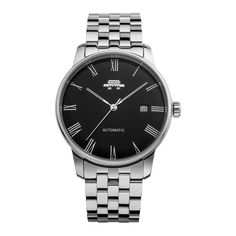 BWF Shanggu 16H black - FINE CHINESE WATCHES - Affordable Luxury Stainless Steel Bracelet, Stainless Steel Case, Affordable Watches, Automatic Watch, Omega Watch, Chinese, Luxury, Accessories, Black