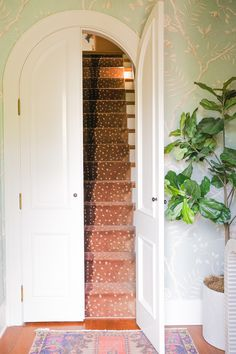 Colorful Entryway Decor via Southern Style Blogger Glitter & Gingham / Ft. Adelé Lexington / Entryway Interior Design / How to style an entryway /