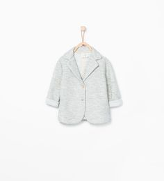 ZARA - KIDS - Textured blazer with buttons